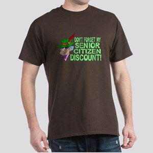 Senior Citizen Discount Dark T-Shirt