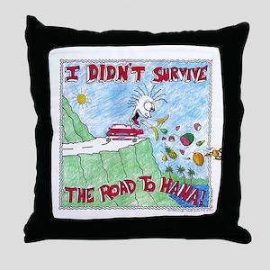 ROAD TO HANA MAUI...! Throw Pillow