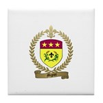 MIGNOT Family Crest Tile Coaster