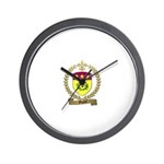 MIGNOT Family Crest Wall Clock