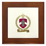 MIGNIER Family Crest Framed Tile