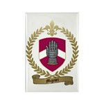 MIGNIER Family Crest Rectangle Magnet (100 pack)