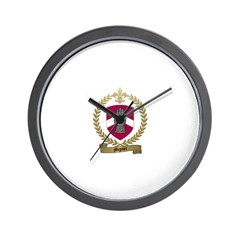 MIGNIER Family Crest Wall Clock