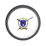 MICHEL Family Crest Wall Clock