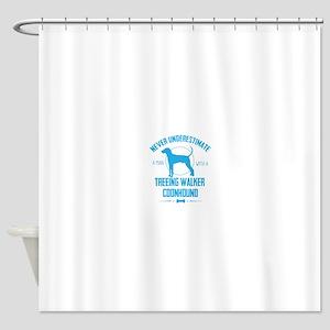 Dog Walker NUMs Shower Curtain