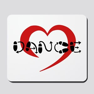 hearty dance Mousepad