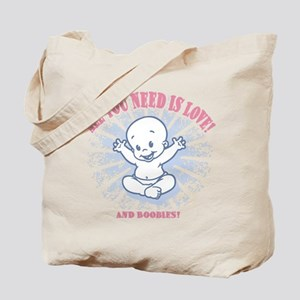 All You Need -2c Tote Bag