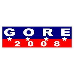 Gore 2008 (four star bumper sticker)