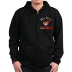 I Just Came for the Rosefinches Zip Hoodie (dark)