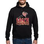 Save the California Condor Hoodie (dark)