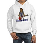 Barack and Roll Funny Obama S Hooded Sweatshirt