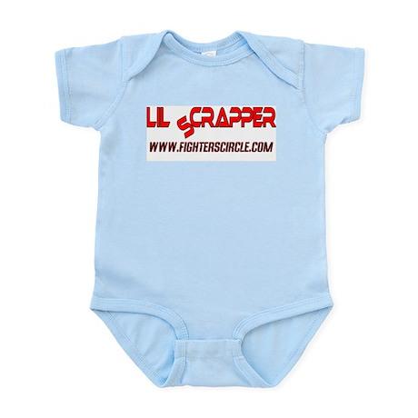 """""""FightersCircle.com Lil Scrapper"""" Infant Creeper"""