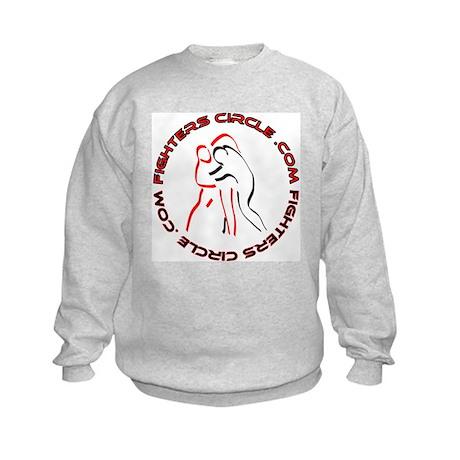 """FightersCircle.com"" Kids Sweatshirt"
