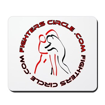 """FightersCircle.com"" Mousepad"