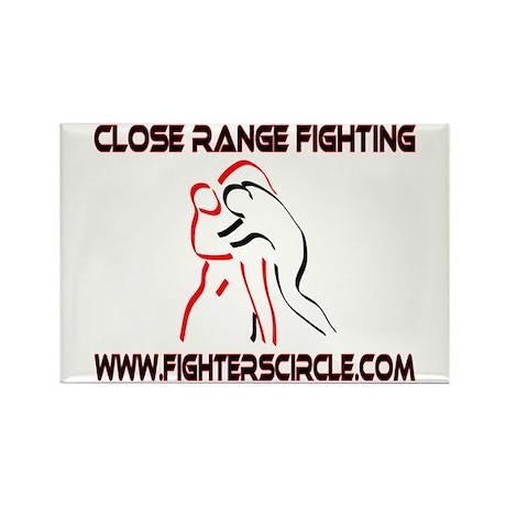 """FightersCircle.com"" Rectangle Magnet"