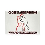 """FightersCircle.com"" Rectangle Magnet"