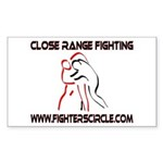 """FightersCircle.com"" Rectangle Sticker"