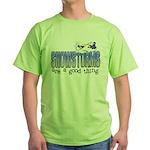 Snowstorms - Good Thing Green T-Shirt