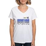 Snowstorms - Good Thing Women's V-Neck T-Shirt