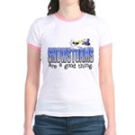 Snowstorms - Good Thing Jr. Ringer T-Shirt