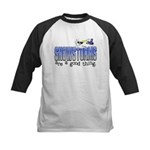 Snowstorms - Good Thing Kids Baseball Jersey