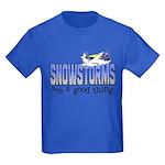 Snowstorms - Good Thing Kids Dark T-Shirt
