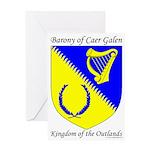 Caer Galen Device Greeting Card