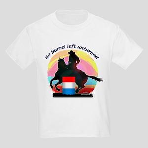 Barrel Racer Kid's T-Shirt