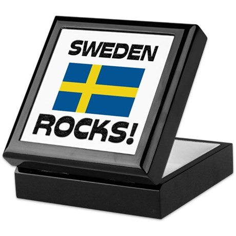 Sweden Rocks! Keepsake Box