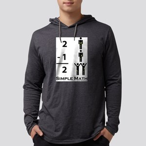 Simple Math Long Sleeve T-Shirt