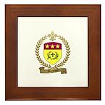 MIGNEAULT Family Crest Framed Tile
