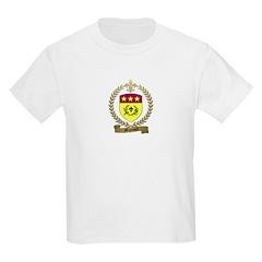 MIGNEAULT Family Crest Kids T-Shirt