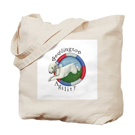 Agility Bedlington Tote Bag