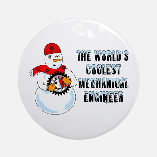 Coolest Mechanical Engineer Ornament (Round)