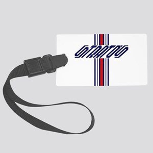 stratos Tank Tops Large Luggage Tag