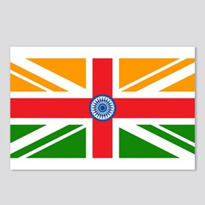 Anglo Indian Flag Postcards (Package of 8)