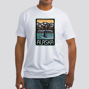 Alaska Pride! Fitted T-Shirt