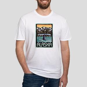 Alaska Pride! Fitted T-Shirt