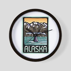 Alaska Pride! Wall Clock