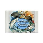 Carolina Outdoors Game Animal Rectangle Magnet