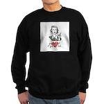 You Ain't Shit If You Can't Knit Sweatshirt (dark)