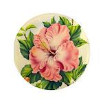 Pink Hibiscus Beautiful Painting Print 3.5
