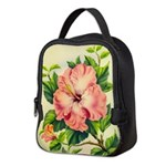 Pink Hibiscus Beautiful Painting Print Neoprene Lu