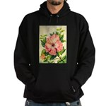 Pink Hibiscus Beautiful Painting Print Sweatshirt