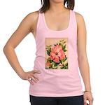 Pink Hibiscus Beautiful Painting Print Tank Top