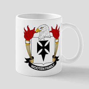 Wooten Family Crest Mug