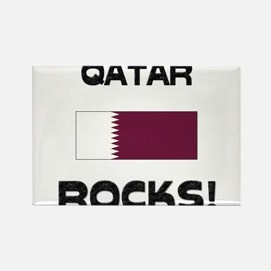 Qatar Rocks! Rectangle Magnet