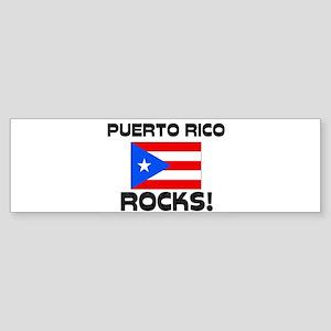 Puerto Rico Rocks! Bumper Sticker