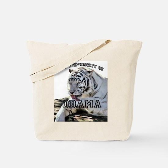 The University of Obama Zoolo Tote Bag