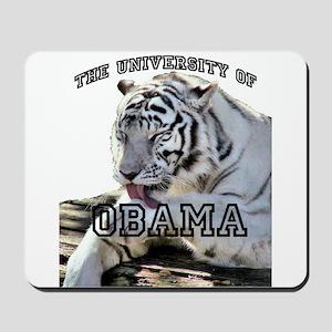 The University of Obama Zoolo Mousepad